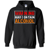 Warning Contain Alcohol