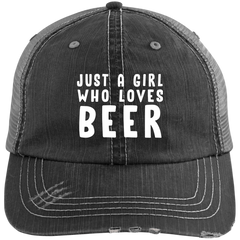 Just A Girl Who Loves Beer Trucker Hat