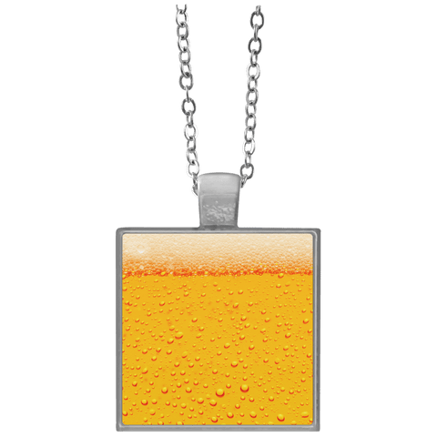 Beer Square Necklace