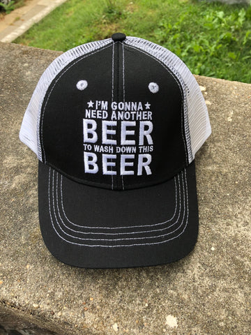 I'm Gonna Need Another Beer To Wash Down This Beer Hat