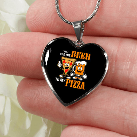 Beer to My Pizza Jewelry