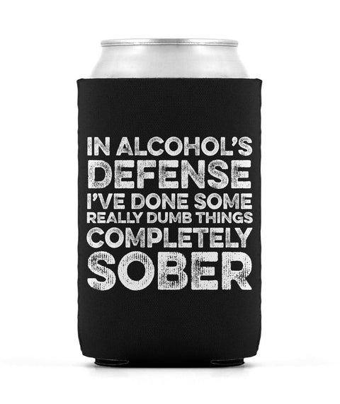 Alcohol's Defense Can Sleeve
