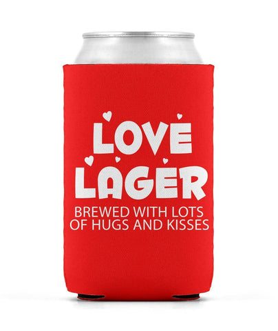 Love Lager Can Sleeve