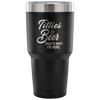 Titties and Beer That's Why I'm Here Laser Etched Tumbler (Premium)