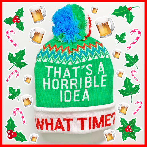 Horrible Idea Holiday Beanie