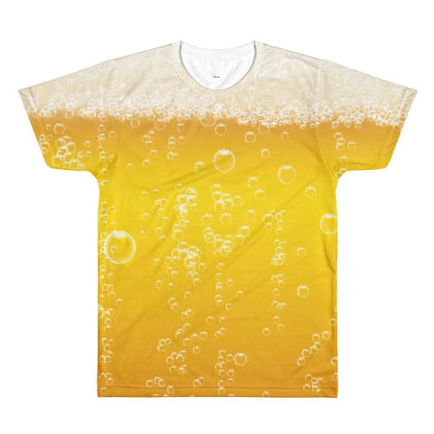 Beer All Over Printed Shirt