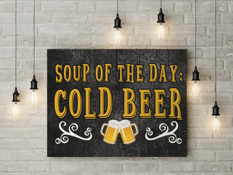 Soup of the Day Canvas