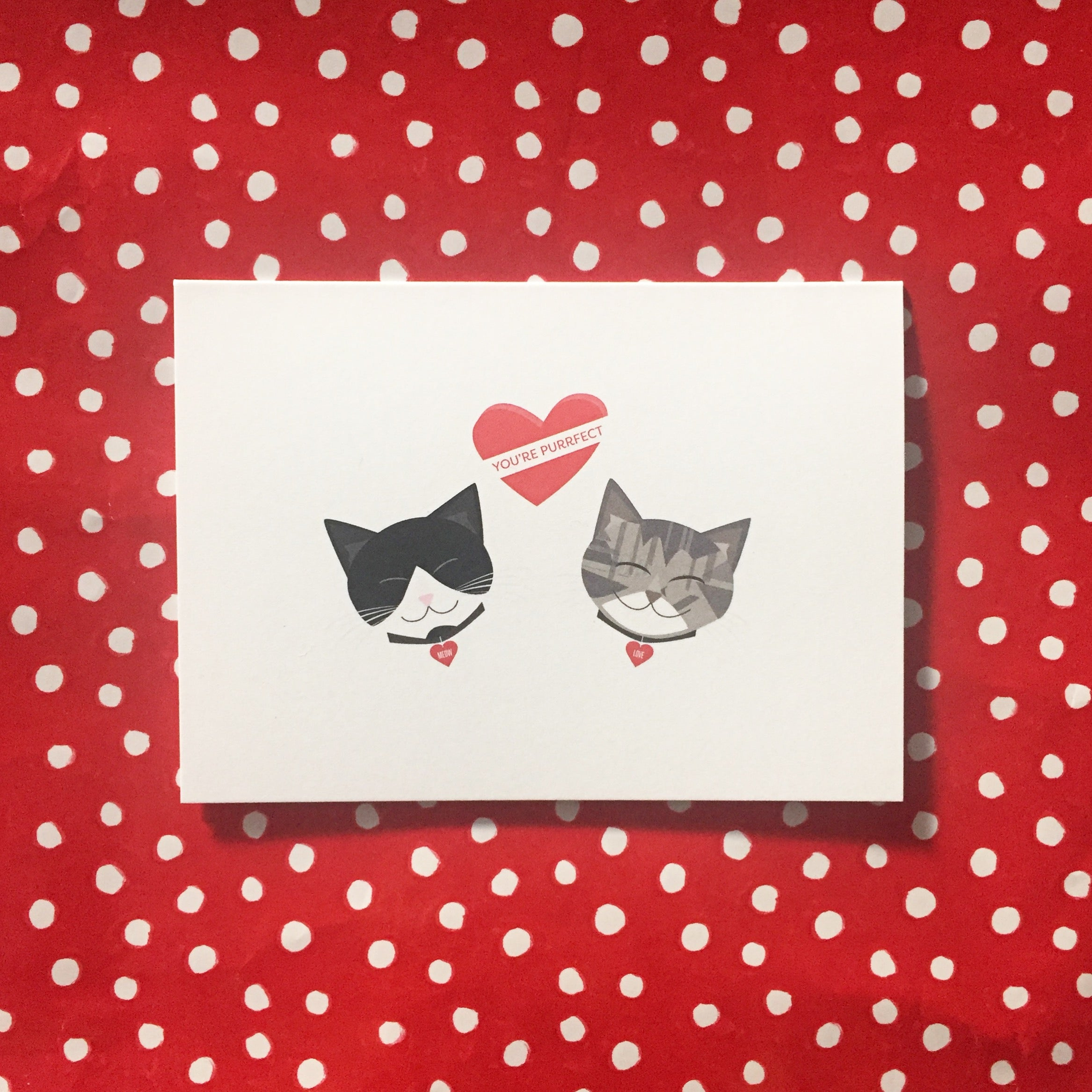 *New* You're Purrfect Notecard