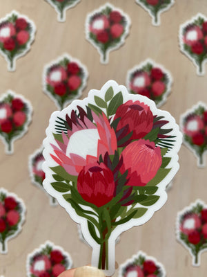 Tropical Bouquet Sticker