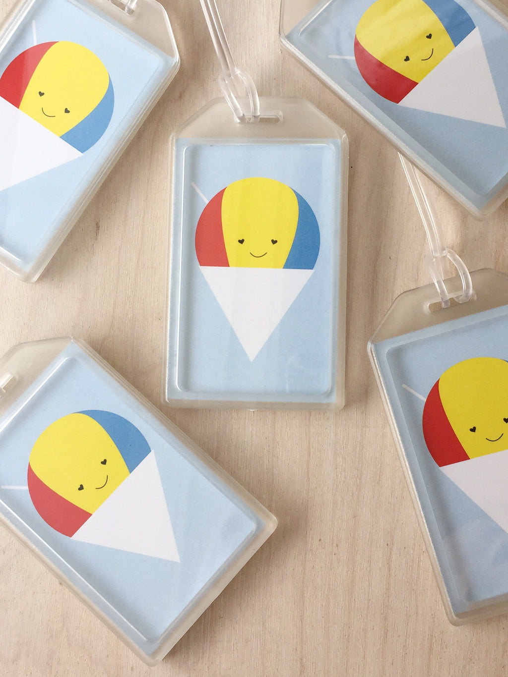 Happy Shave Ice Luggage Tag