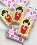 Kokeshi Luggage Tag