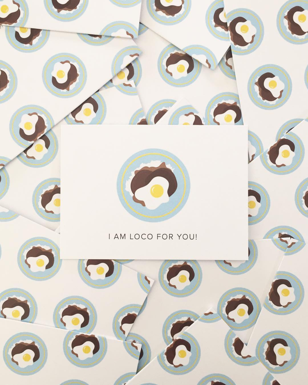 Loco For You Notecard