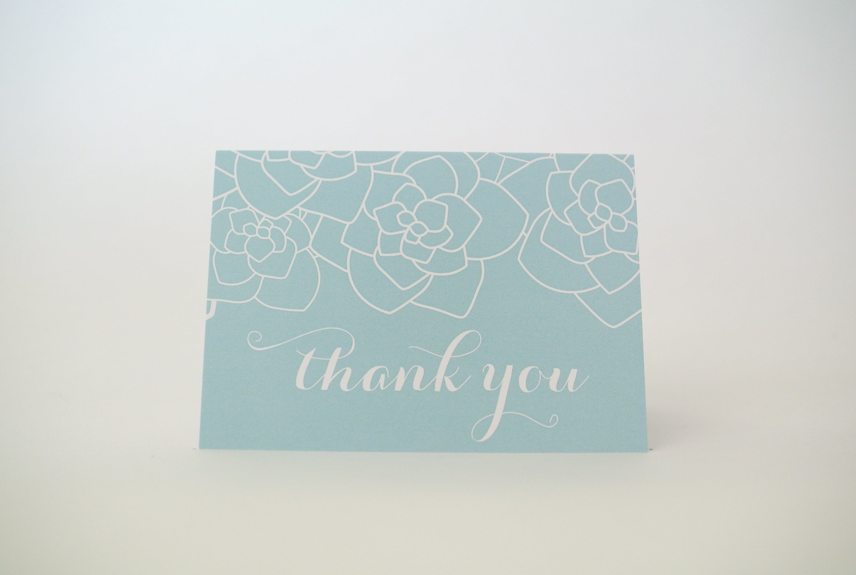 Gardenia Thank You Notecard