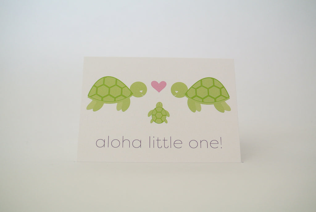 Aloha Little One Notecard