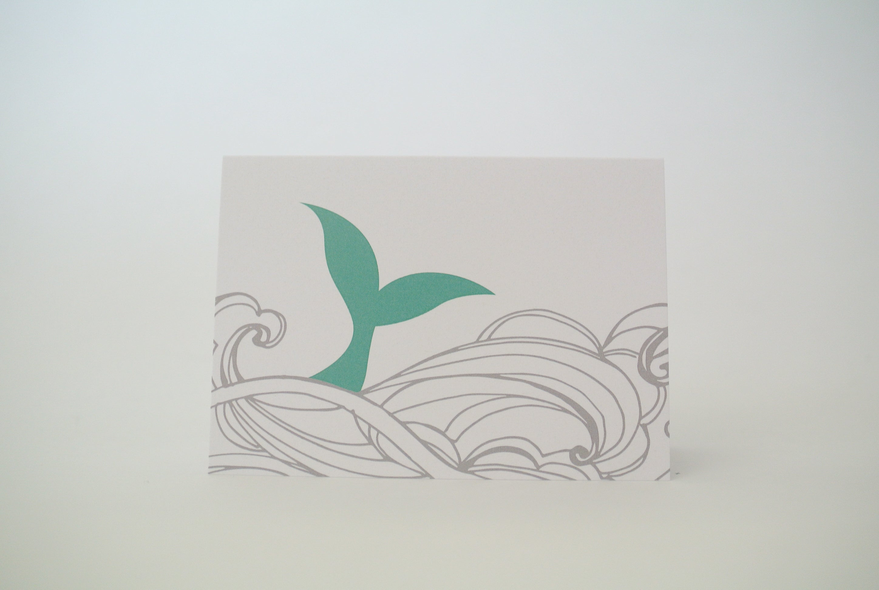 *New* Mermaid Tail Notecard