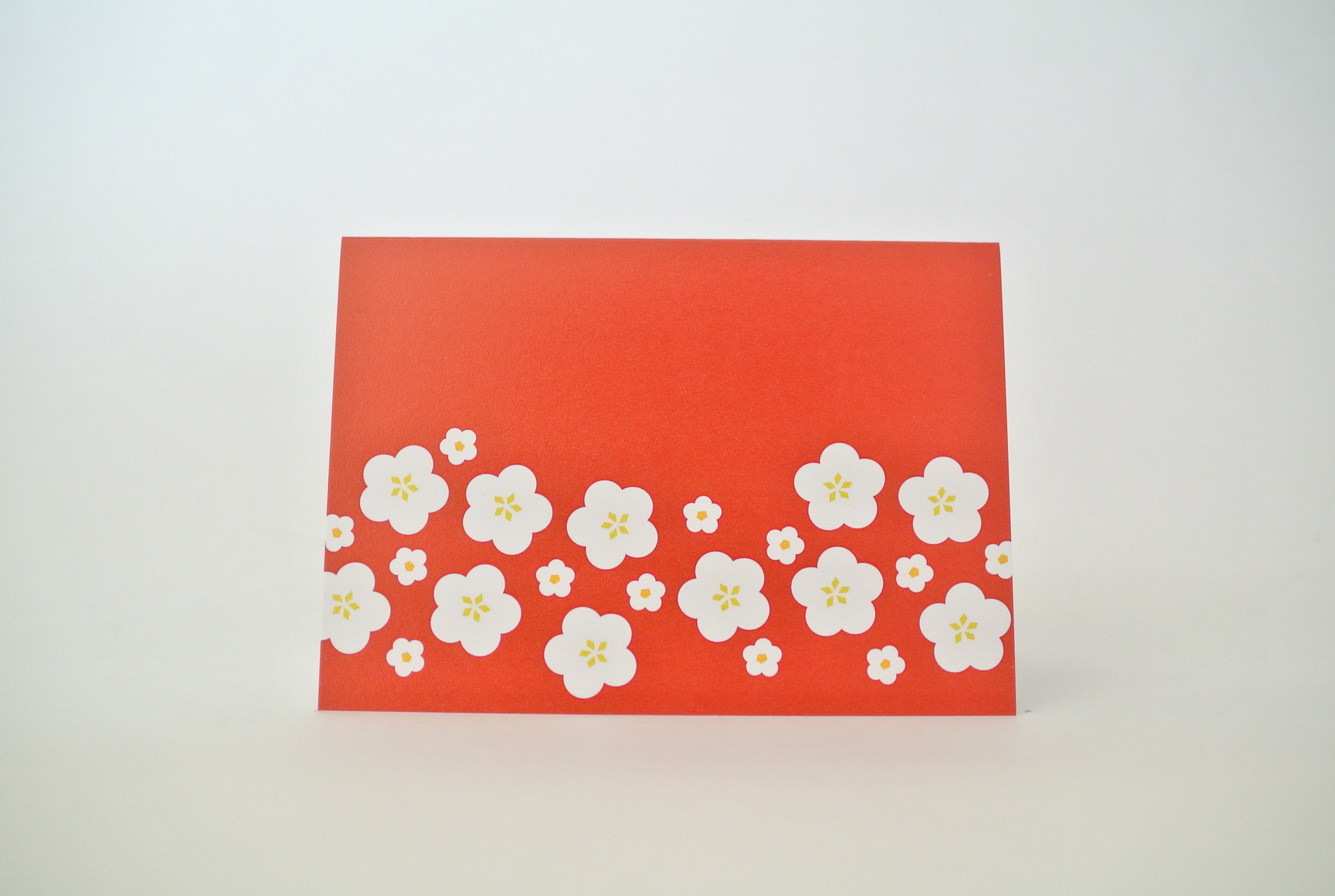 Red Hana Notecard