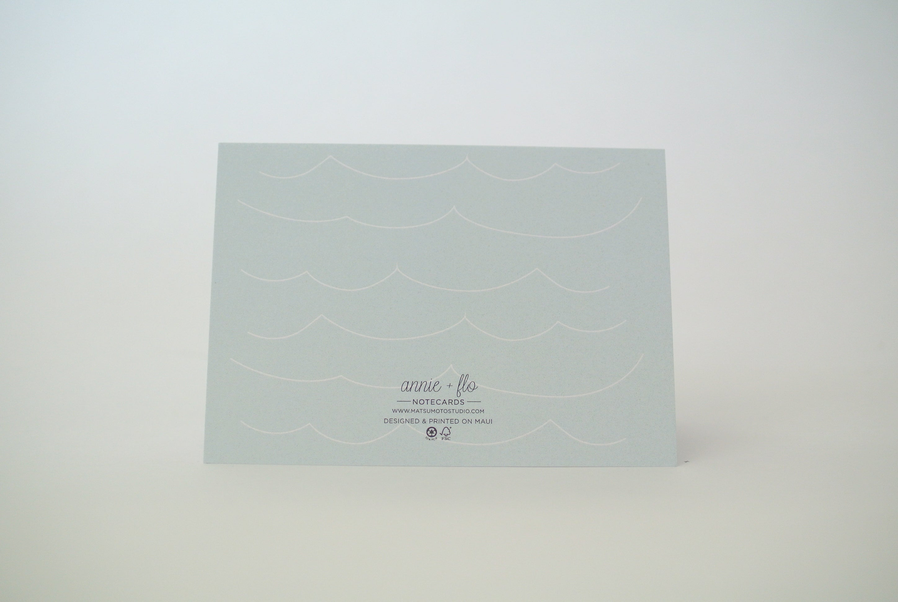 Whale Happy Birthday Notecard