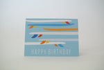 *New* Longboard Happy Birthday Notecard