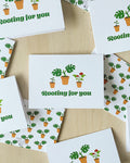 **NEW** Rooting for You Notecard