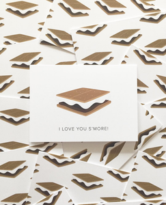 Love You S'more Notecard