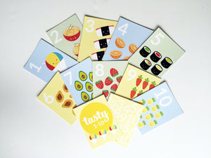 Tasty 1-10 Counting Cards