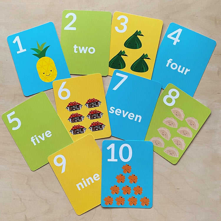 **NEW** Tasty 1-10 Counting Cards