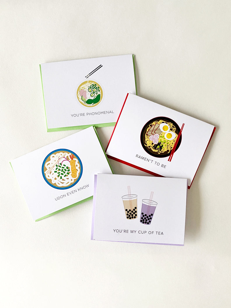 ***NEW*** Tasty Greetings Card Set