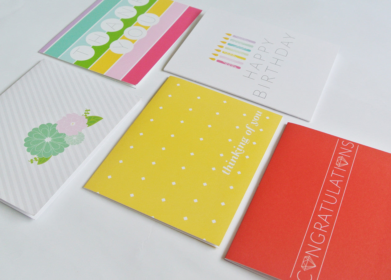 Bright Notecard Set