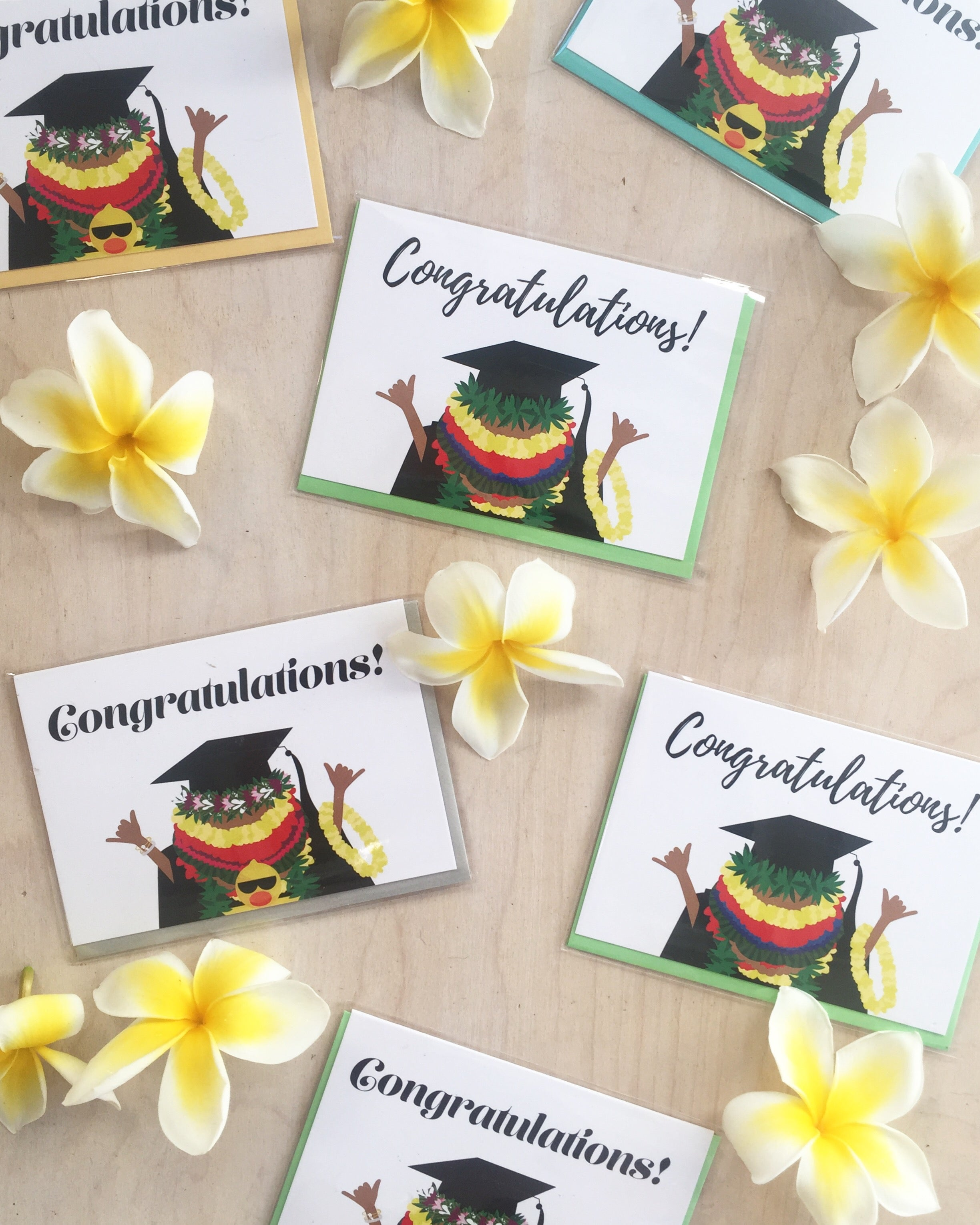 *NEW* Congratulations Grad Shaka Notecard