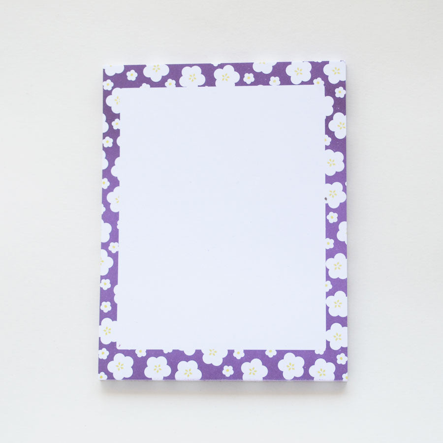 Purple Hana Notepad