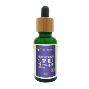 Broad Spectrum Hemp Oil For Pets-1500mg - The Farmacy