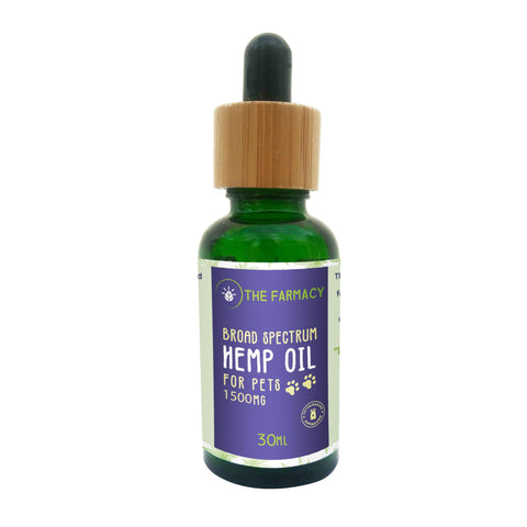 Broad Spectrum Hemp Oil For Pets-1500mg