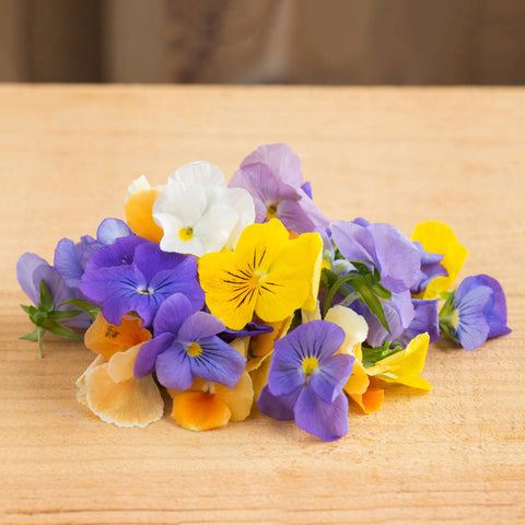 Organic Edible Flowers