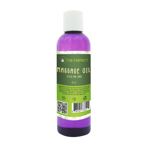 Massage Oil 250mg Broad Spectrum Hemp Oil - The Farmacy