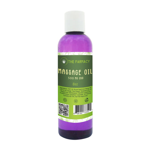 Massage Oil 500mg Broad Spectrum Hemp Oil - The Farmacy