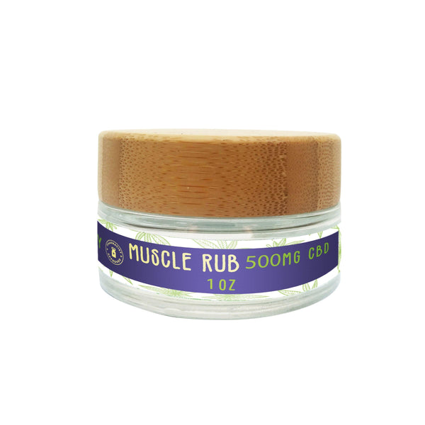 High Quality Muscle Rub That Eliminates Soreness in Muscles Naturally!  Contains 500 MG of CBD and many other beneficial essential oils.