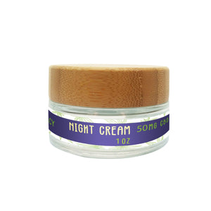 Night Cream-50mg CBD - The Farmacy