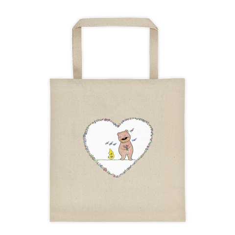 Hiyoko Kuma Love Tote bag