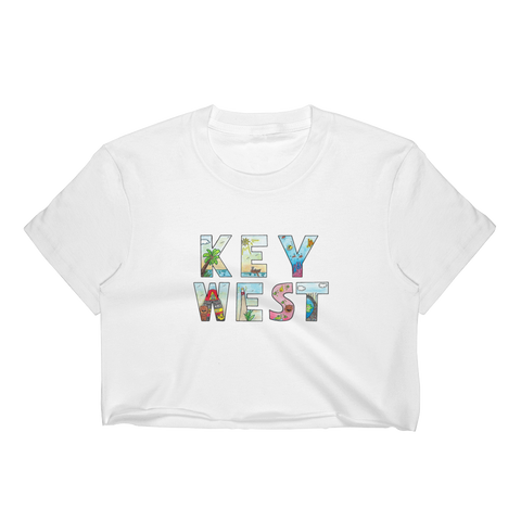 Key West Women's Crop Top - Kuma In a Mine