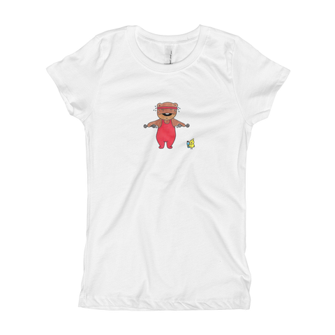 Kuma Work Out Girl's T-Shirt