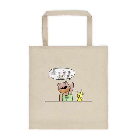French Toast Shopping Tote