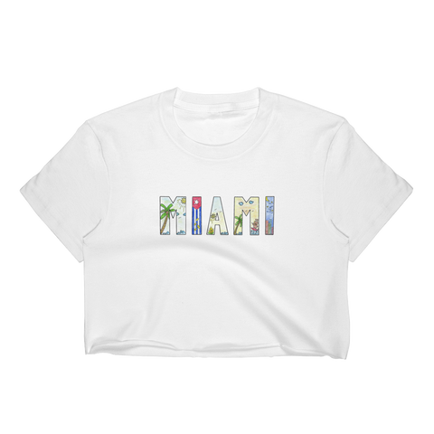 Miami Women's Crop Top - Kuma In a Mine