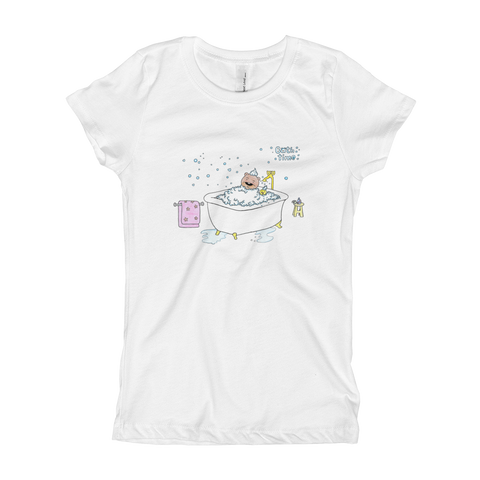 Bath Time Girl's T-Shirt