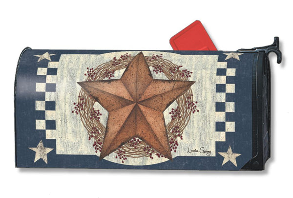 Blue Barn Star MailWrap