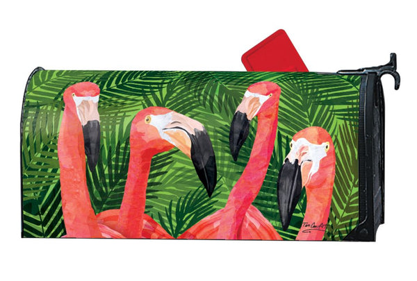 Flamingo Gathering MailWrap