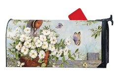 Petunias on Pulley MailWrap
