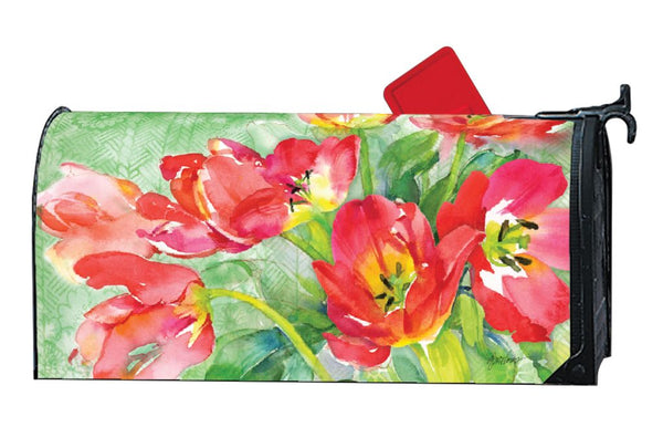Red Tulips MailWrap