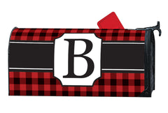 Buffalo Check Monogram B MailWrap