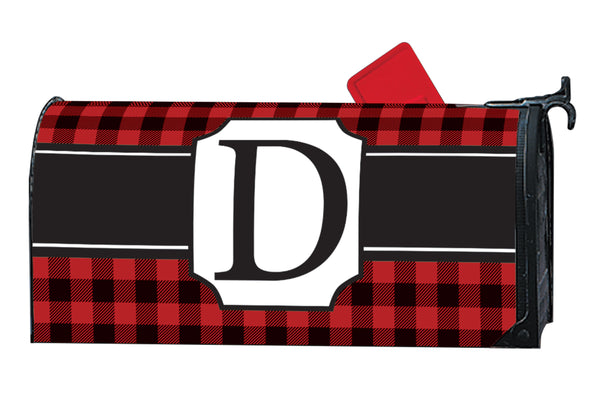 Buffalo Check Monogram D MailWrap