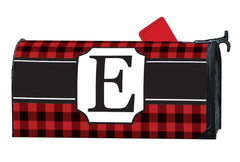 Buffalo Check Monogram E MailWrap